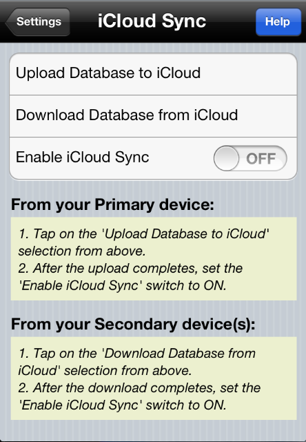 SVT Software - iCloud Sync